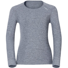 Odlo Active Originals Warm Longsleeve Shirt Crew Neck Dames, grey melange